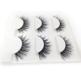 3 Pair Handmade Thick Full Strip Mink Eyelashes
