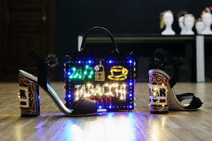Led-bags, led clutch bag, led handbag, led shoulder bag