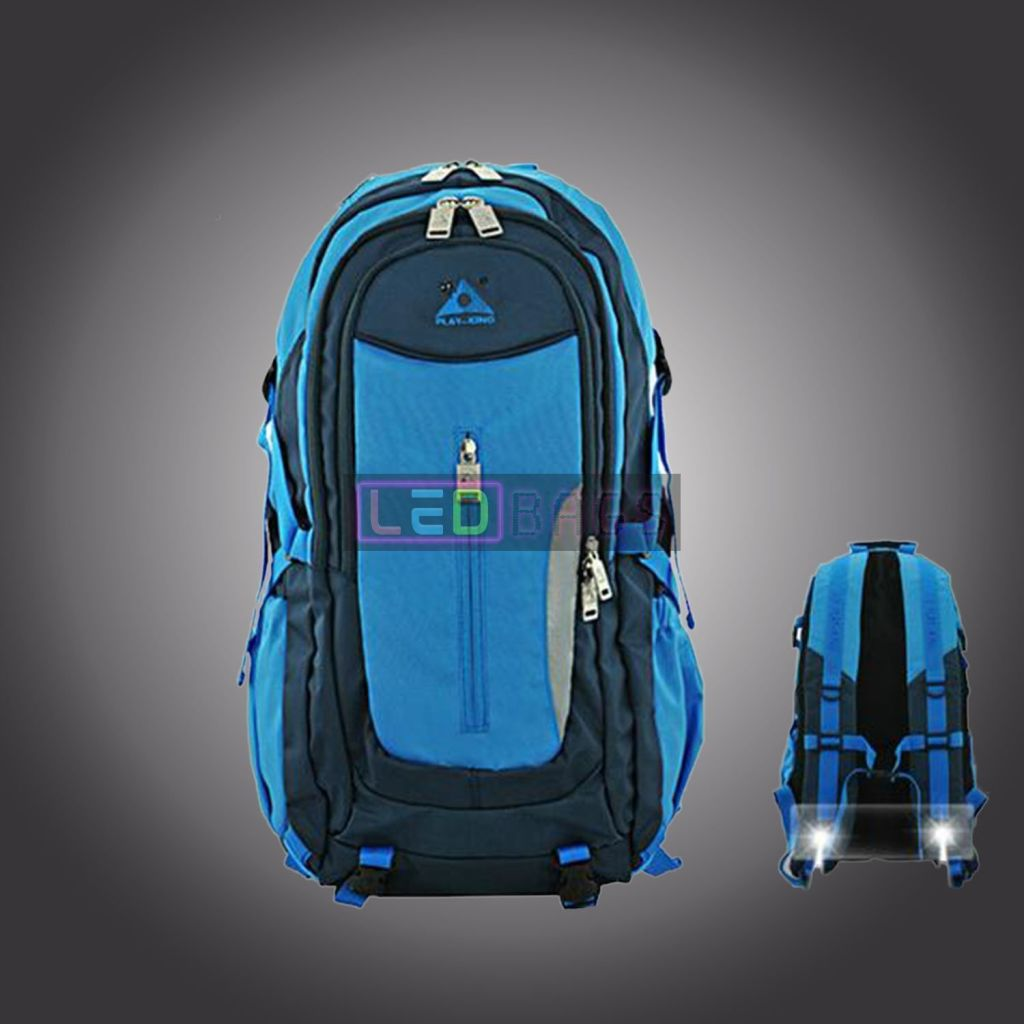 Led-Bags:  Led Lamp Backpack For Hiking Camping Cycling With Large Capacity Waterproof Led Bags