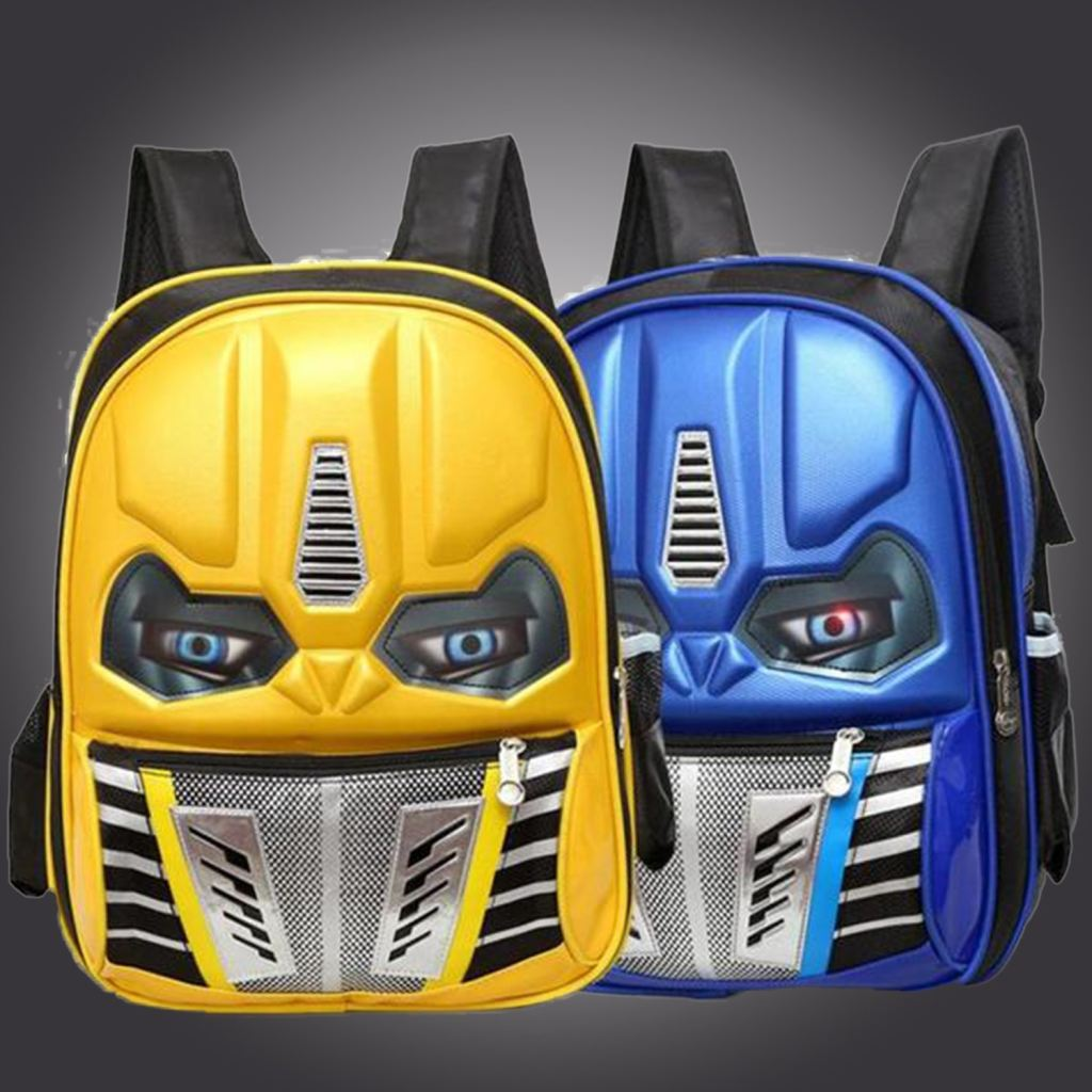 Buy 2018 3D Children School Bag Transformer Backpack For Kids 6-12 Years In Our Online Shop