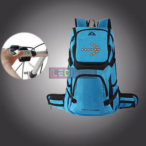 Buy Led Backpack For Riding Bicycle Or Travel Sports Waterproof With The Best Price In Our Online Shop Blue / 35L Led Bags