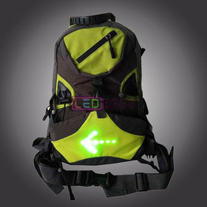Buy Led Driving Safety Riding Backpack With Turn Light And Music The Best Price In Our Online Shop Bags