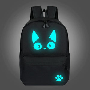 Buy School Backpack For Teenager Luminous Bag Cat Book With The Best Price In Our Online Shop 6 Led Bags