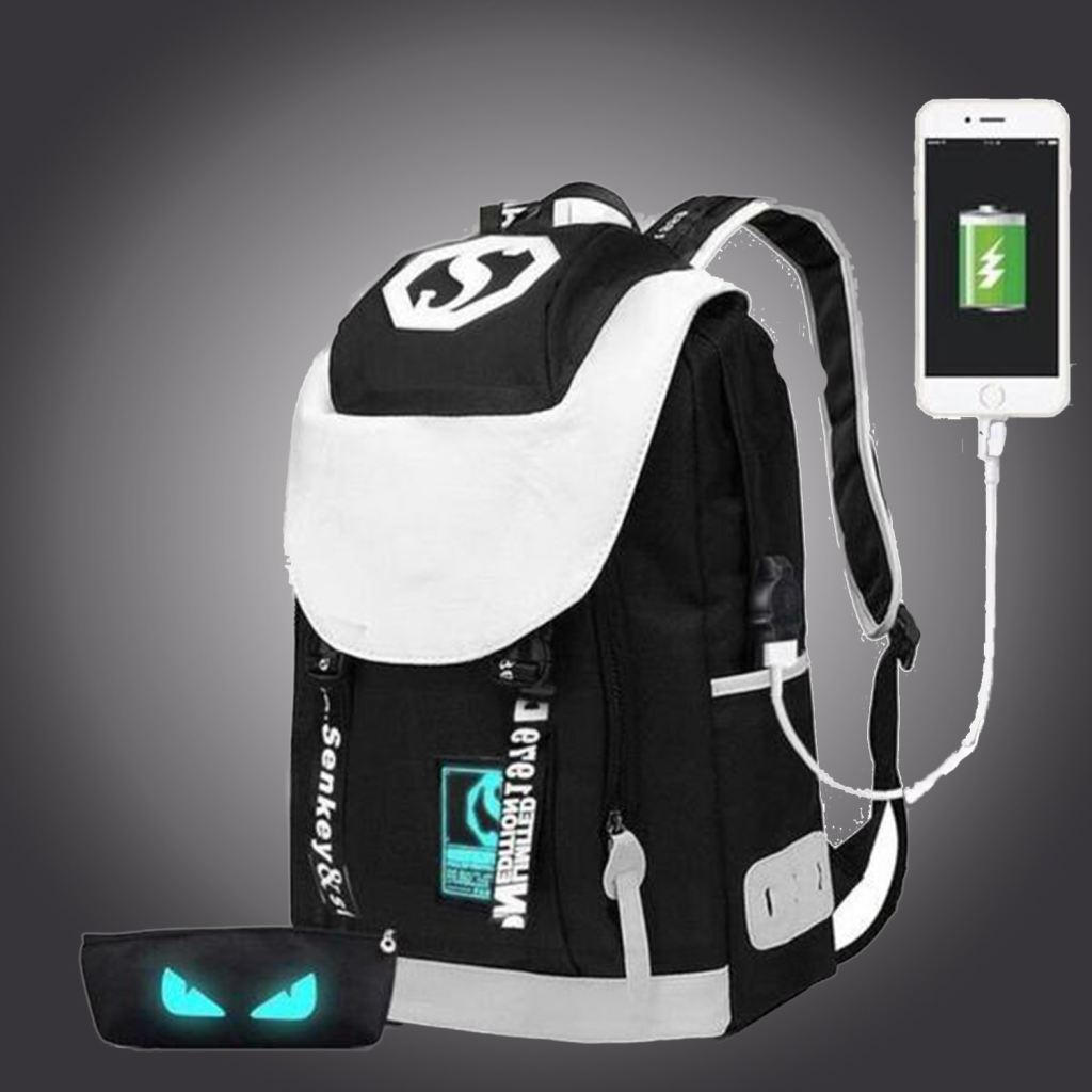 Buy Usb Charge Backpack Luminous School Bag Casual For Teenagers Laptop In Our Online Shop G-Usb Led Bags