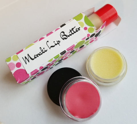 Meraki Lip Butter, All Natural Lip Balm - Meraki by Misty