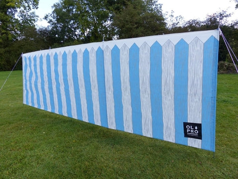 PICKET FENCE 4 POLE COMPACT WINDBREAK (STEEL