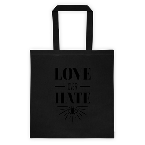 LOVE OVER HATE TOTE