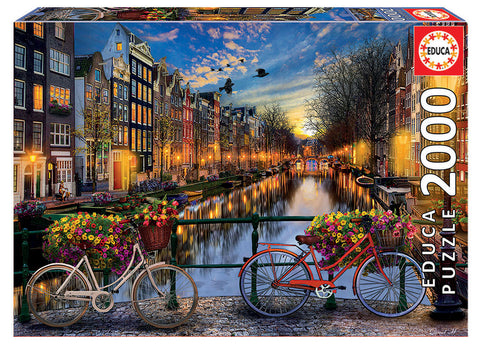 Amsterdam with Love Educa Puzzle (2,000 pieces)