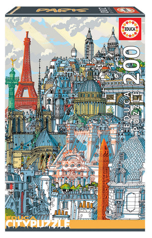 Barcelona Educa Puzzle (200 pieces)