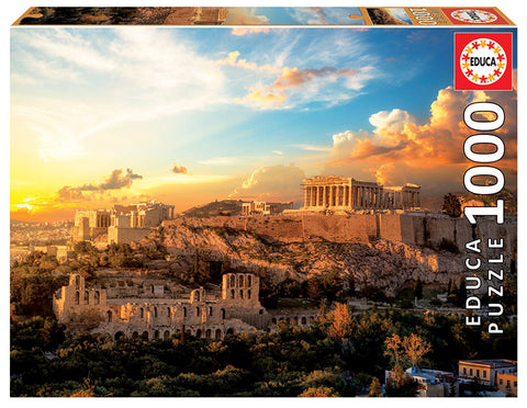 Acropolis of Athens Educa Puzzle (1,000 pieces)