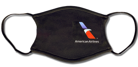 American Airlines Logo Face Mask