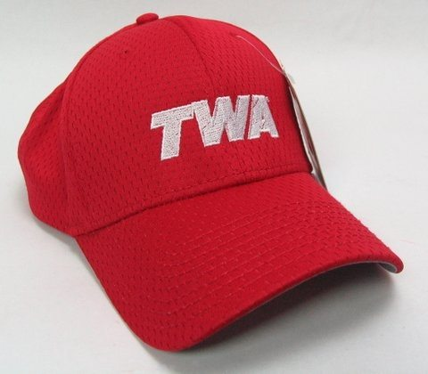 Red TWA Logo Cap