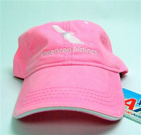 Pink Cotton Cap with New AA Logo