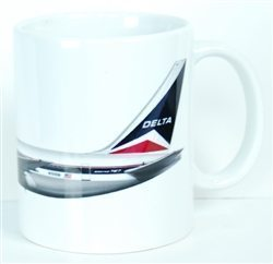 Delta Air Lines 767 Old Livery Coffee Mug