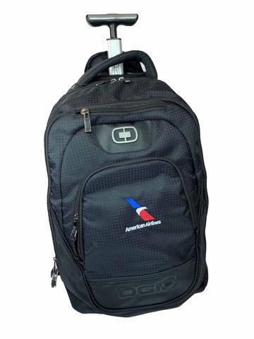 Ogio Rolling Backpack with AA Logo