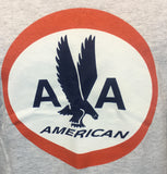 Close up of American Airlines 1962 Logo T-shirt