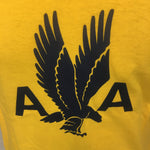 AA Gold 1940's Eagle T-shirt Closeup