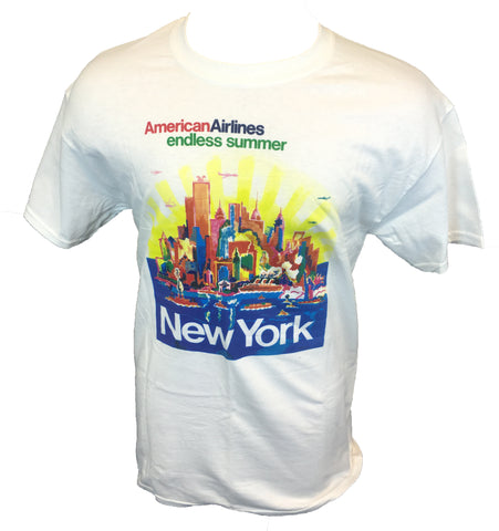 AA New York City Travel Poster T-shirt