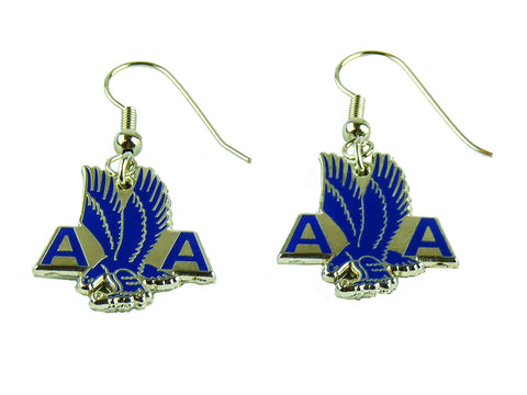 American Airlines Old Eagle Logo Earrings