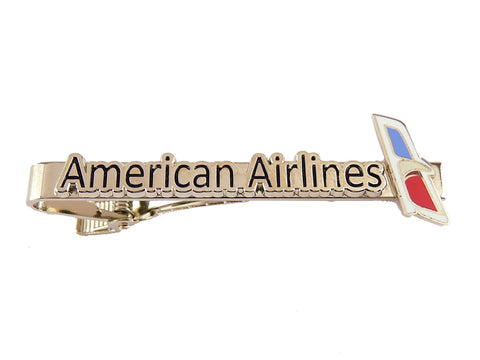 American Airlines New Logo Tie Bars and Tie Pins