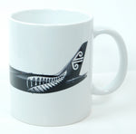 Air New Zealand 787 with the All Blacks Livery Coffee Mug