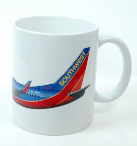 Southwest Airlines 737 Coffee Mug