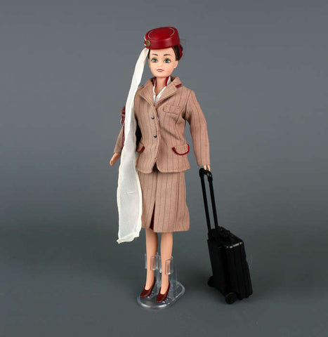 Emirates Cabin Crew Doll - Brunette