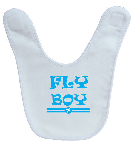 Fly Boy Baby Bib