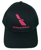 Hot Pink Logo Navy Mesh Cap