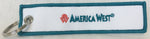 America West Airlines Logo Key Tag