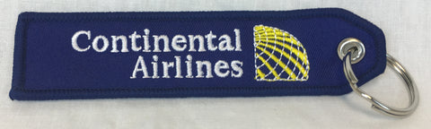 Continental Airlines Last Logo Key Tag
