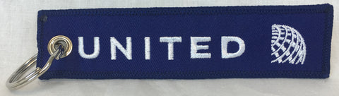 United Airlines Logo Key Tag