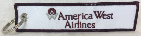 America West First Logo Key Tag