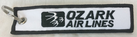 Ozark Airlines Logo Key Tag