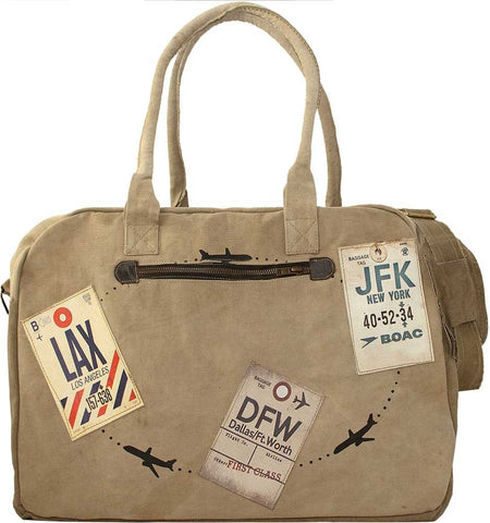 LAX/DFW/JFK Travel Tags Tent Travel Bag