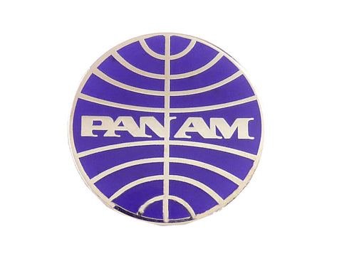 Pan Am Logo Lapel Pin