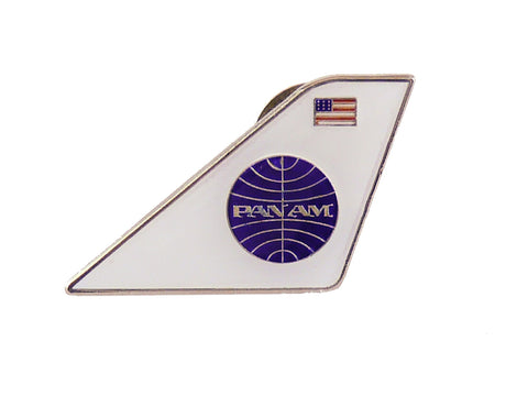 Pan Am Logo Tail Pin