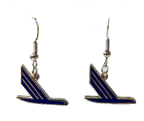 Piedmont Speedbird Logo Earrings