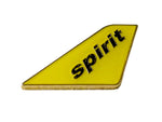Spirit Airlines Yellow Livery Tail Pin