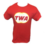 TWA Red Globe Logo T-shirt