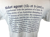 Ticket Agent T-Shirt