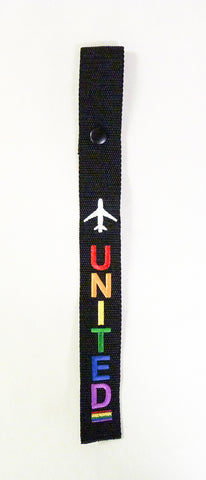 Airline Pride Straps - United