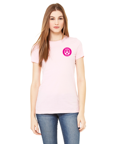 Western Airlines 2020 Breast Cancer Awareness Ladies T-shirt