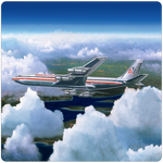 AA 707 Square Coaster by Rick Broome
