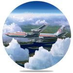 AA 707 Round Coaster by Rick Broome