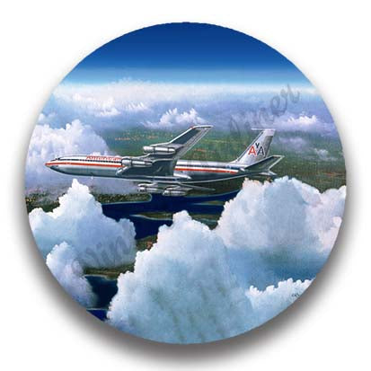 AA 707 by Rick Broome Magnets