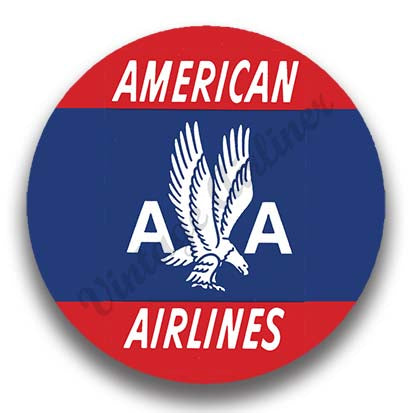 AA 40's Red Logo Magnets