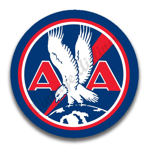 AA 1930's Logo Red Magnets