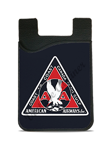 American Airlines 1930's American Airways Bag Sticker Card Caddy