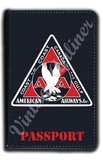 AA 1930's Bag Sticker Passport Case
